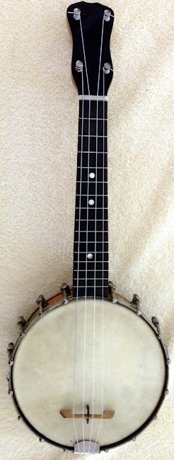 Slingerland made Banjolele banjo at Lardy's Ukulele Database