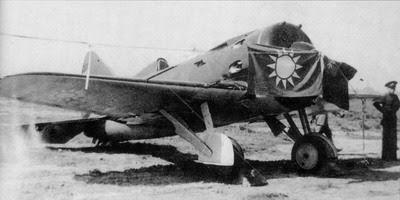 單翼小螺旋槳戰機