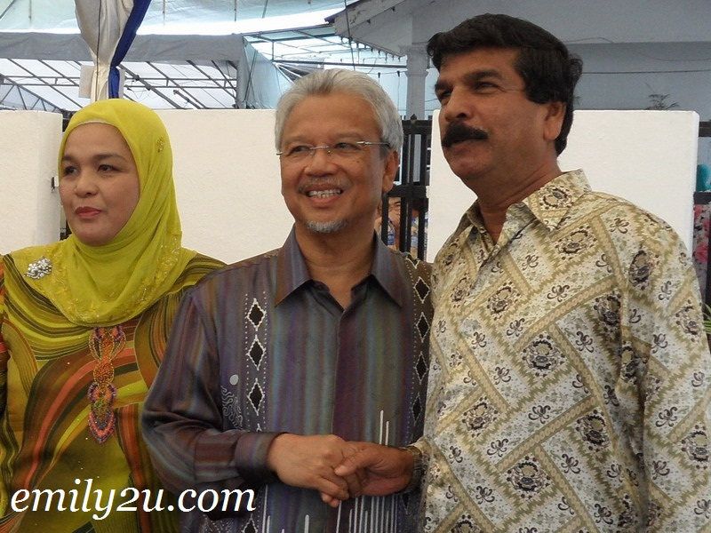 Hari Raya Open House - Second Finance Minister YB Dato' Seri Ahmad Husni Hanadzlah