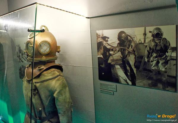 Nurek portowy w Muzeum Miasta Gdyni