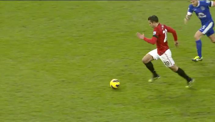 Robin van Persie, Manchester United - Everton