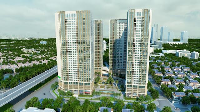 Phối cảnh chung cư Eco Green City Nguyễn Xiển