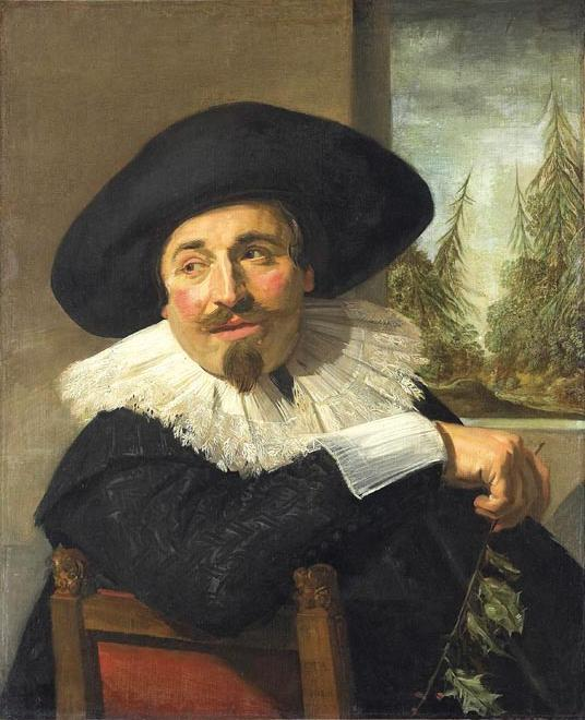 Frans Hals - Portrait of Isaac Abrahamsz. Massa