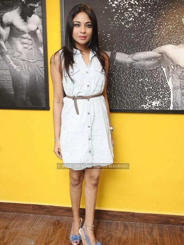 Aishwarya at the launch of the fitness studio Body Shape in Chennai.