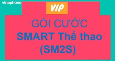 Gói Smart Thể thao (SM2S) Vinaphone,  38GB Data, Gọi Không giới hạn, xem MyTV cả ngày