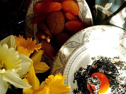 Jasmine Tea And Sunlit Treasures