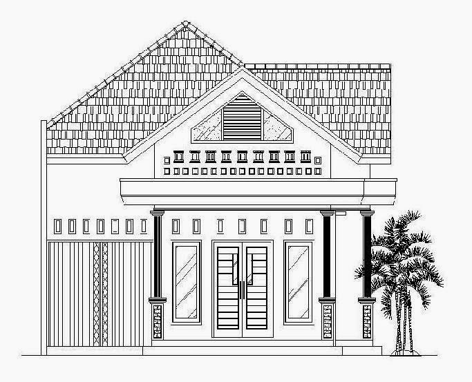 Cara Membuat Gambar Rumah Desain Rumah Unik