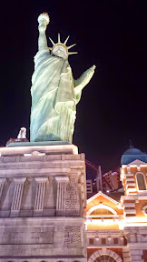 Lady Liberty at New York New York in Las Vegas