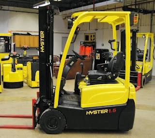 Xe nâng điện 1.6 tấn Hyster J1.6XNT (MWB)