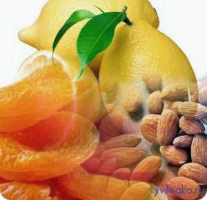 Рецепт курага лимон мед