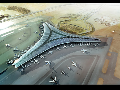 Kuwait International Airport Building, Middle East – design by Foster and Partners