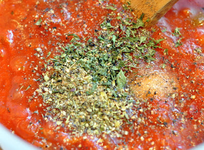 parsley and Italian seasoning