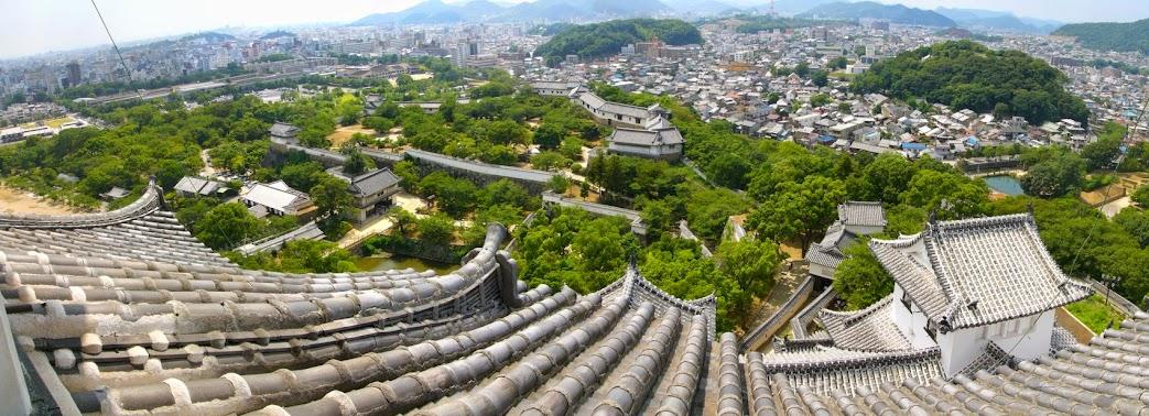 kiến trúc thành Himeji