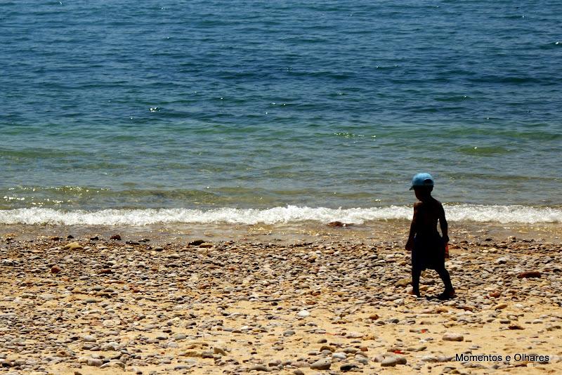 Praia do creiro sem areia
