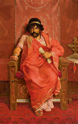 'Herod the Great' by Théophile Lybaert, 1883
