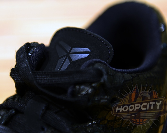 b635bdf62f74 Nike Kobe 8 EXT - Black  Metallic Silver