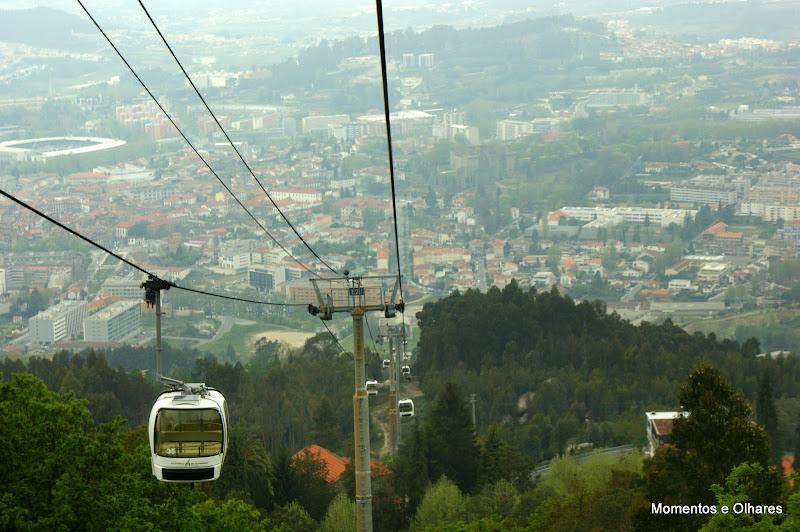 Guimarães, teleférico, penha