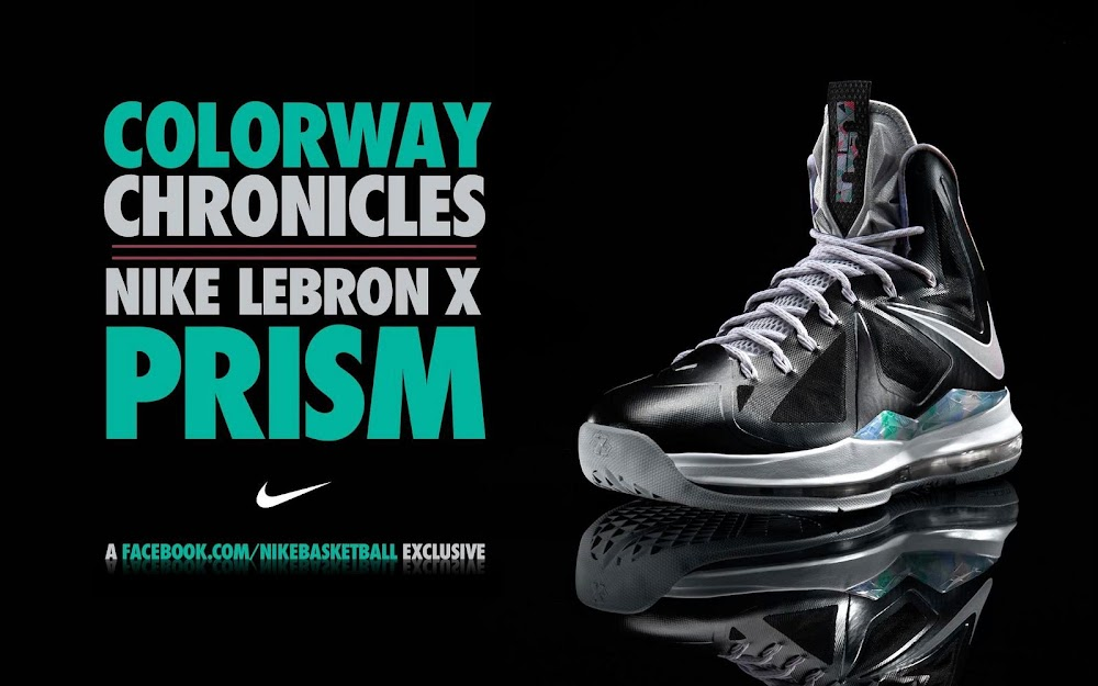 the best attitude 12a24 d34a0 ... Release Reminder Nike LeBron X Prism and its Gallery ...
