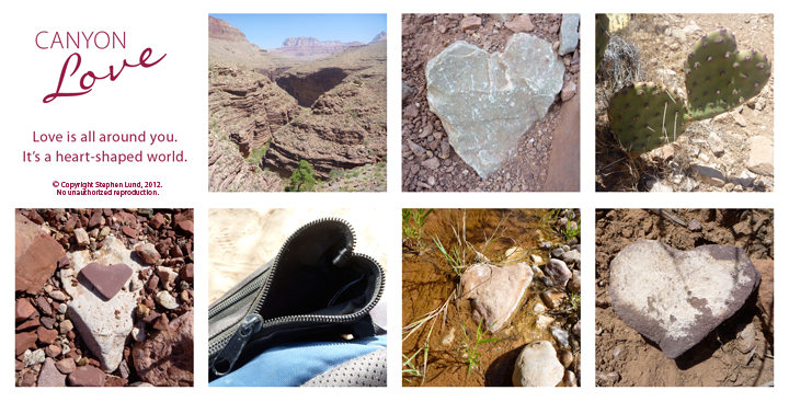 A Heart Shaped World Takes Shape: Some of the Grand Canyon surprises that inspired this blog