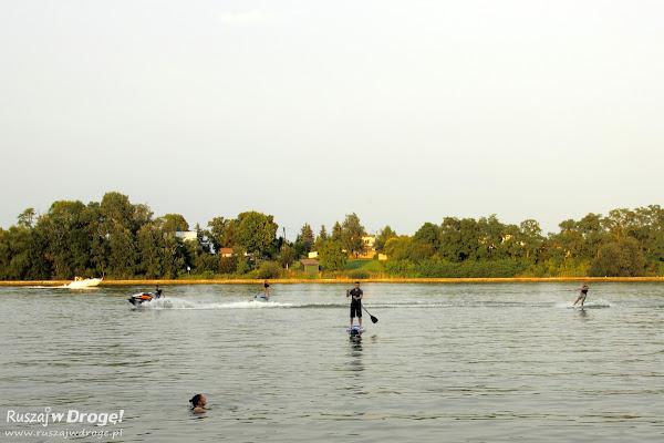 sporty wodne na jeziorze mikorzyńskim