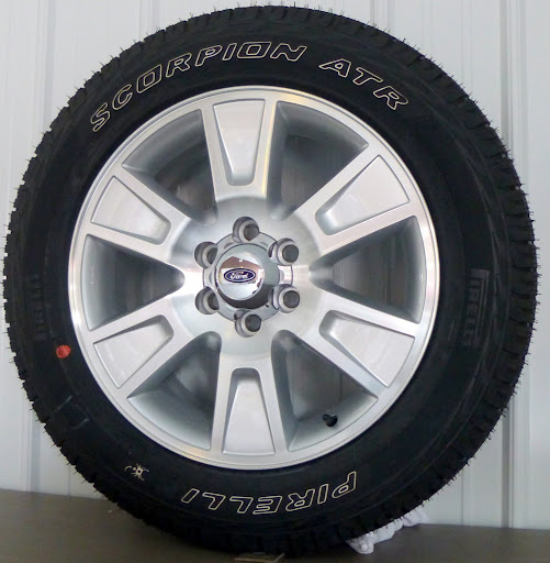"2013 Ford F150 FX2 FX4 Expedition 20"" Wheels Rims Pirelli Tires New Take Off 