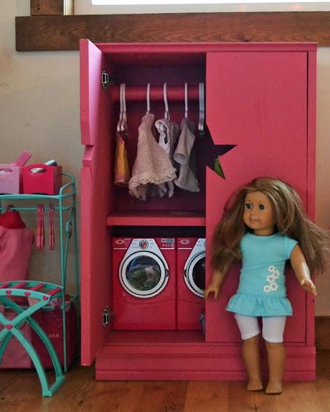 american girl armoire plans