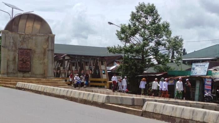 Miniatur Mihrab akan Hiasi Trotoar Martapura