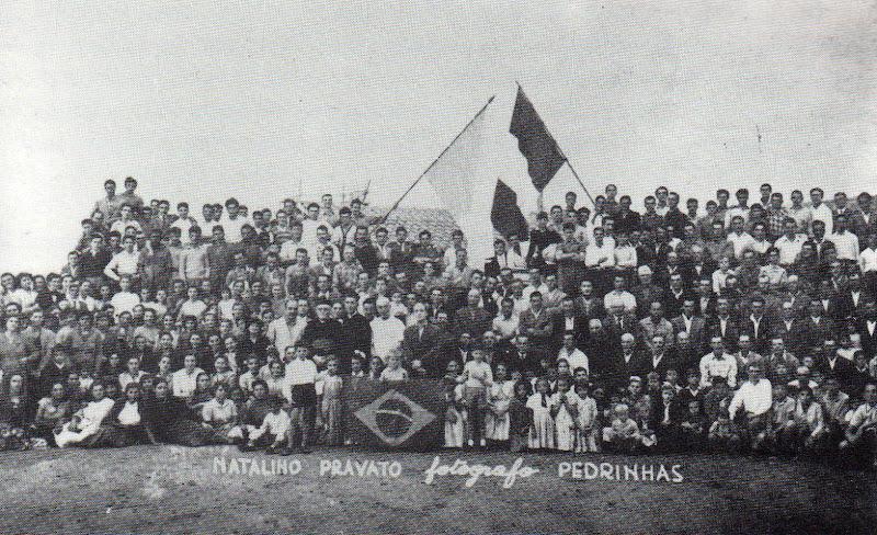 Mons. Saretta - don Ernesto Montagner e i sandonatesi emigrati a Pedrinhas Paulista