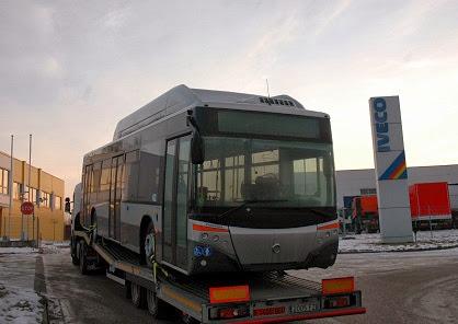 Castrosua City Versus CNG - autobus gazowy ufundowany przez rząd Hiszpanii dla Litwy