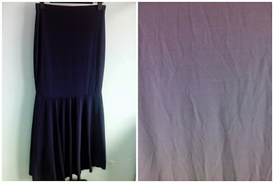 Skirt Mermaid Dark Blue