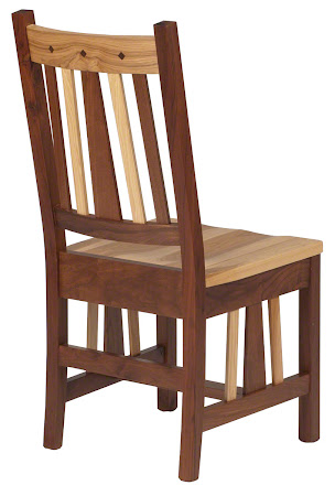 Eastern Chair in Mixed Wood (Natural Hickory and Walnut)