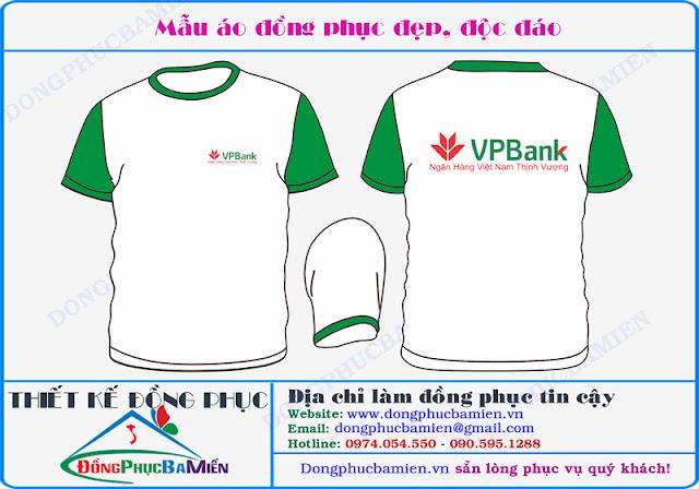 Dong phuc ngan hang VPBank