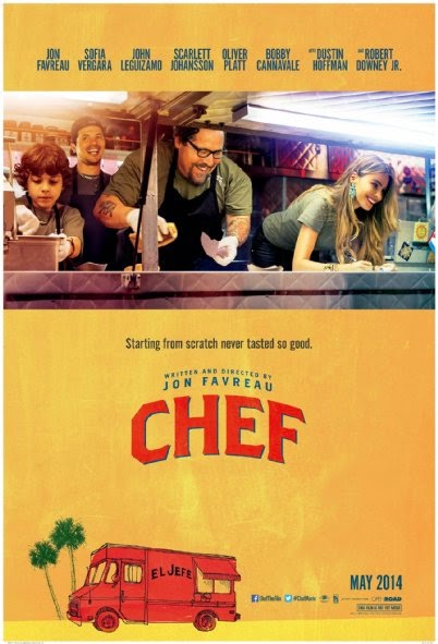 Poster Of English Movie Chef (2014) Free Download Full New Hollywood Movie Watch Online At Alldownloads4u.Com
