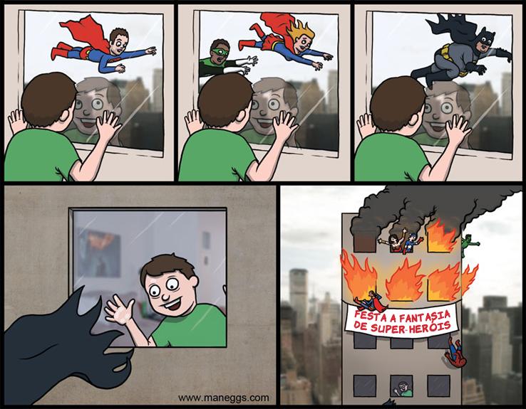 festaafantasiadesuperherois Onde há fumaça...