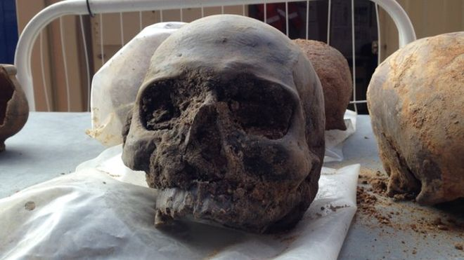UK: Solving the mystery of the Roman Walbrook skulls