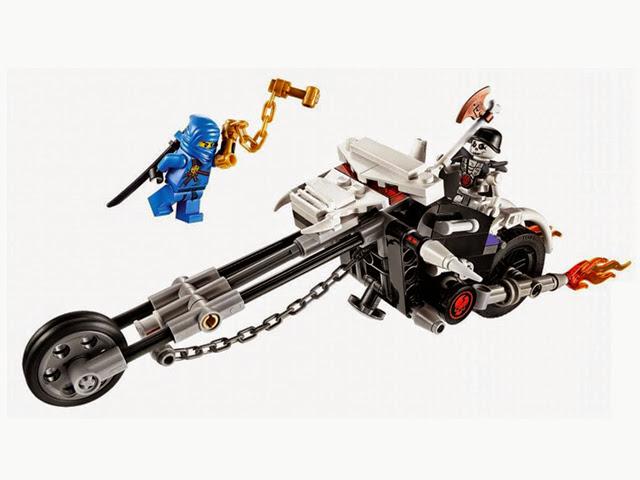 2259 レゴ ニンジャゴー ホネホネ・モーターバイク