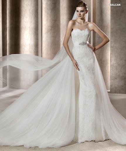 Menyasszonyi ruha 2012 Pronovias Balcan