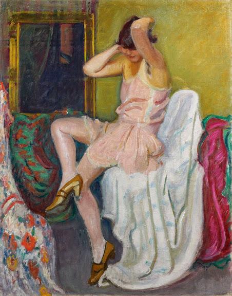Jean Puy - La Combinaison rose, circa 1913