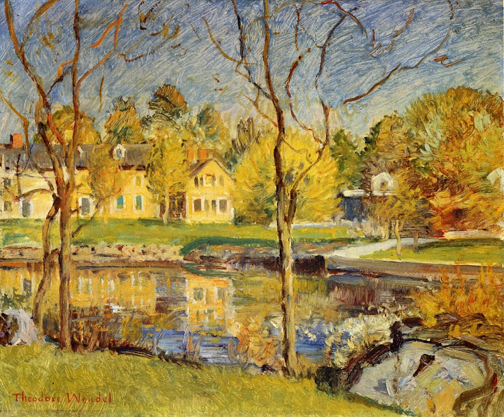 Theodore Wendel – By the Pond