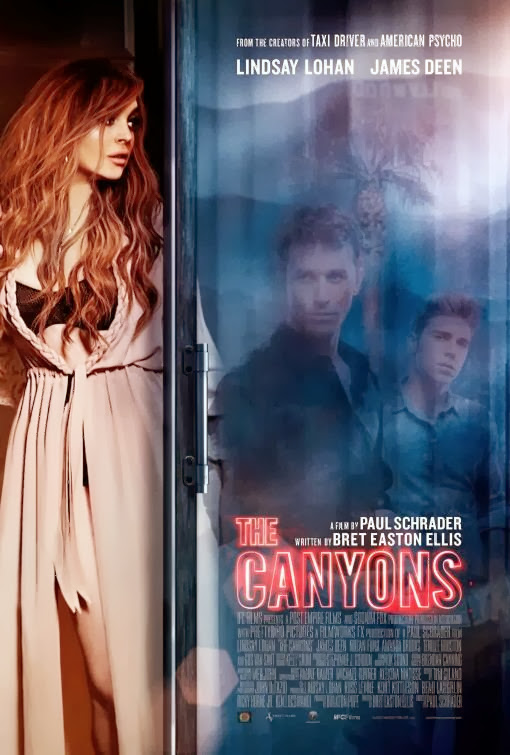 Poster Of English Movie The Canyons (2013) Free Download Full New Hollywood Movie Watch Online At Alldownloads4u.Com