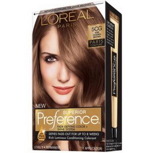 Kem nhuộm tóc L'oreal Paris 5CG Superior Preference hàng Mỹ xách tay