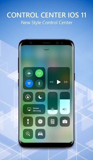 OS 11 iLauncher Phone 8 & Control Center OS 11- screenshot thumbnail