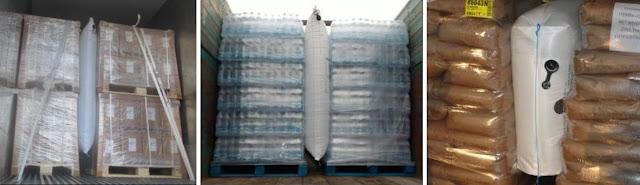 Túi khí chèn hàng container Stopak