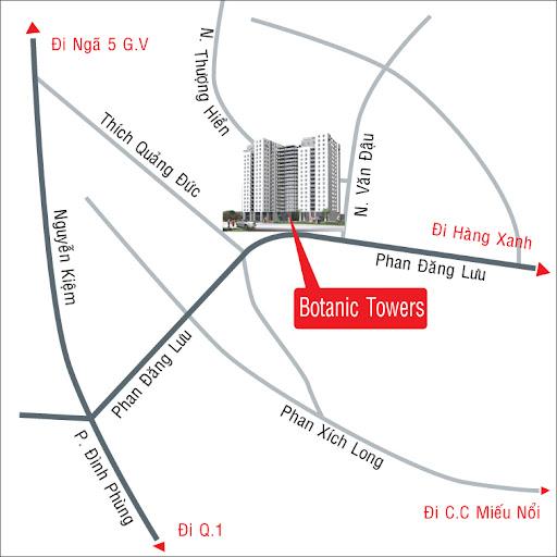 BotanicTowers%2520copy Cho thuê nhiều Căn hộ Botanic Tower   Phú Nhuận