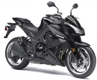 2011 Kawasaki Z1000 Black