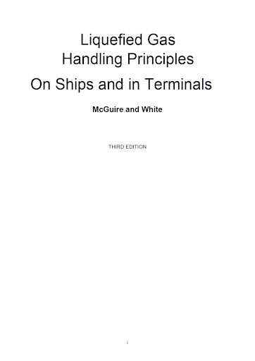 Liquefied Gas Handling Principles On Ships and in Terminals - 3rd edition Untitled
