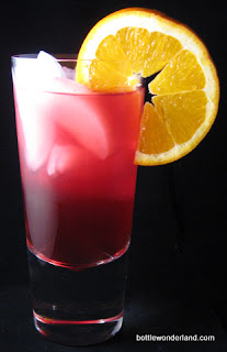Twin Peach Cocktail