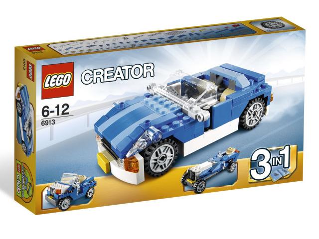 レゴ クリエイター・ブルーロードスター 6913