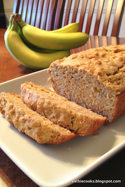 Kathie cooks march 2013 it has a lot of great articles and recipes for those of us trying to cut processed foods out of our diet whole wheat banana bread forumfinder Image collections