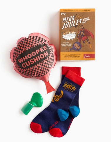 Joules Stinky Trump Christmas Set with Whoopee cushion and parp socks!